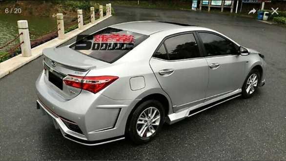 Toyota corolla 2013 modified