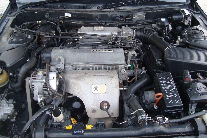 Схема опор кпп и двигателя 5а фе на короллу