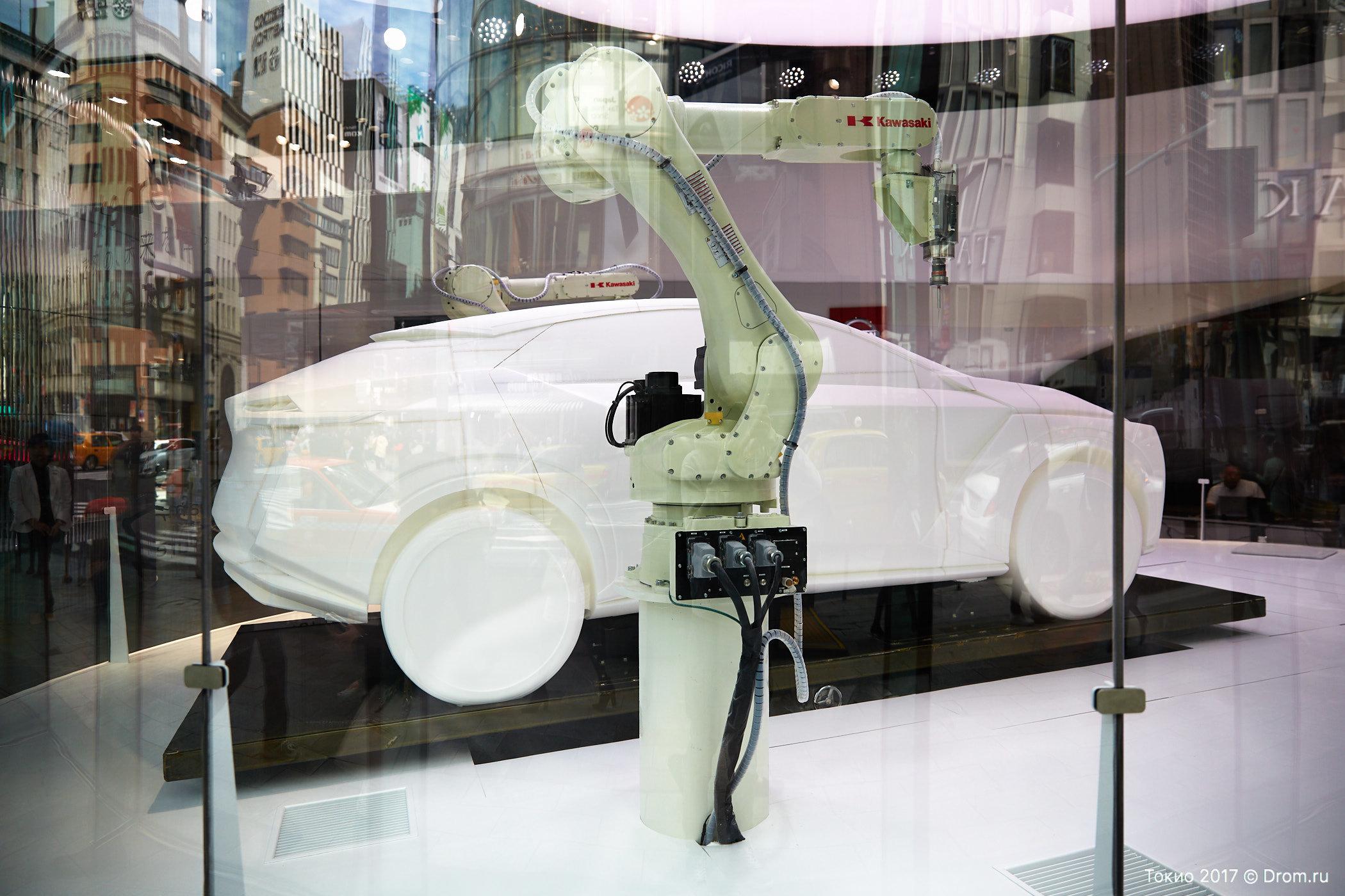 Концептуальный автомобиль Ниссан IMx показали вТокио