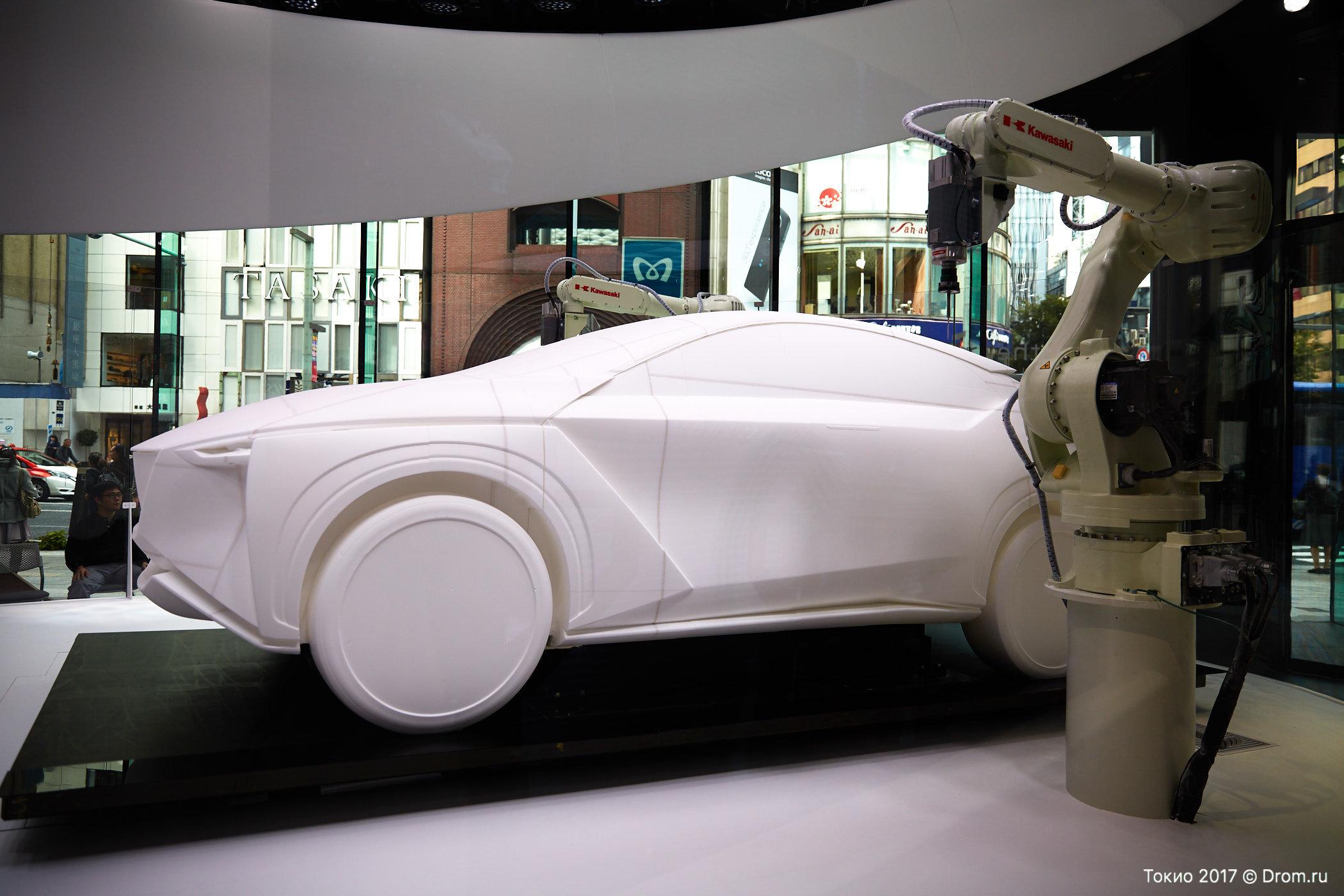 Ниссан протестировал технологию автономного вождения на Инфинити Q50