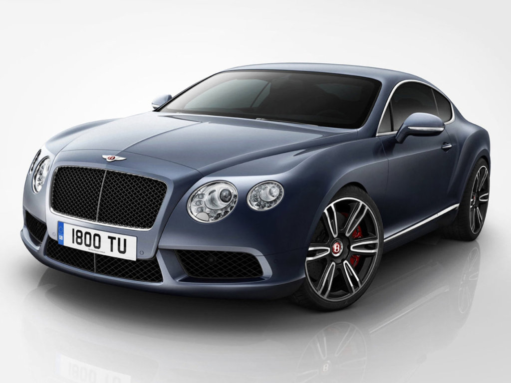 bentley continental фото