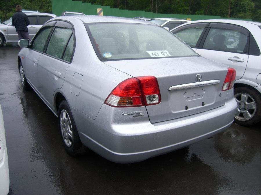 honda civic ferio 2000 комплектации