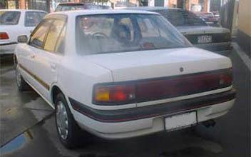 mazda familia в кузове bg5p пружины передние