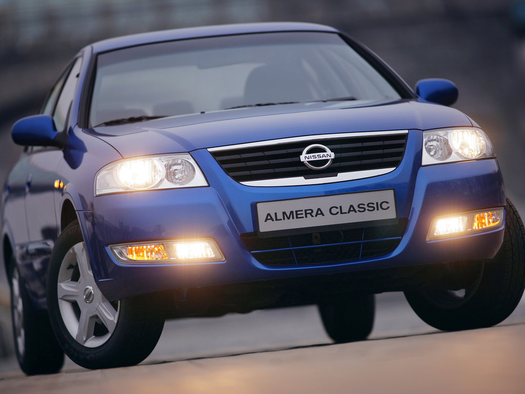 nissan almera classic 2009 характеристики