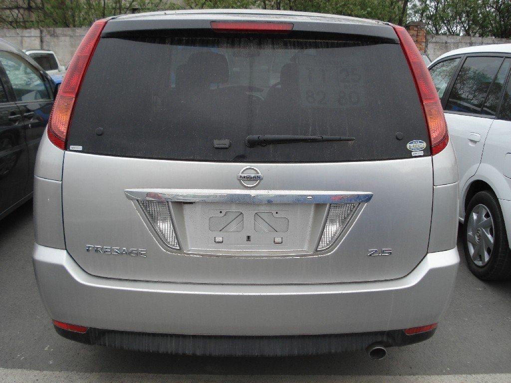 технические характеристики автомобиля nissan presage tnu31