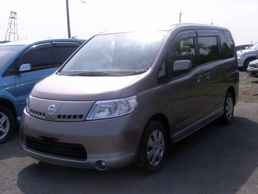 Nissan Serena 2005  2006  2007   U043c U0438 U043d U0438 U0432 U044d U043d  3  U0440 U044f U0434 U0430  U0441 U0438 U0434 U0435 U043d U0438 U0439