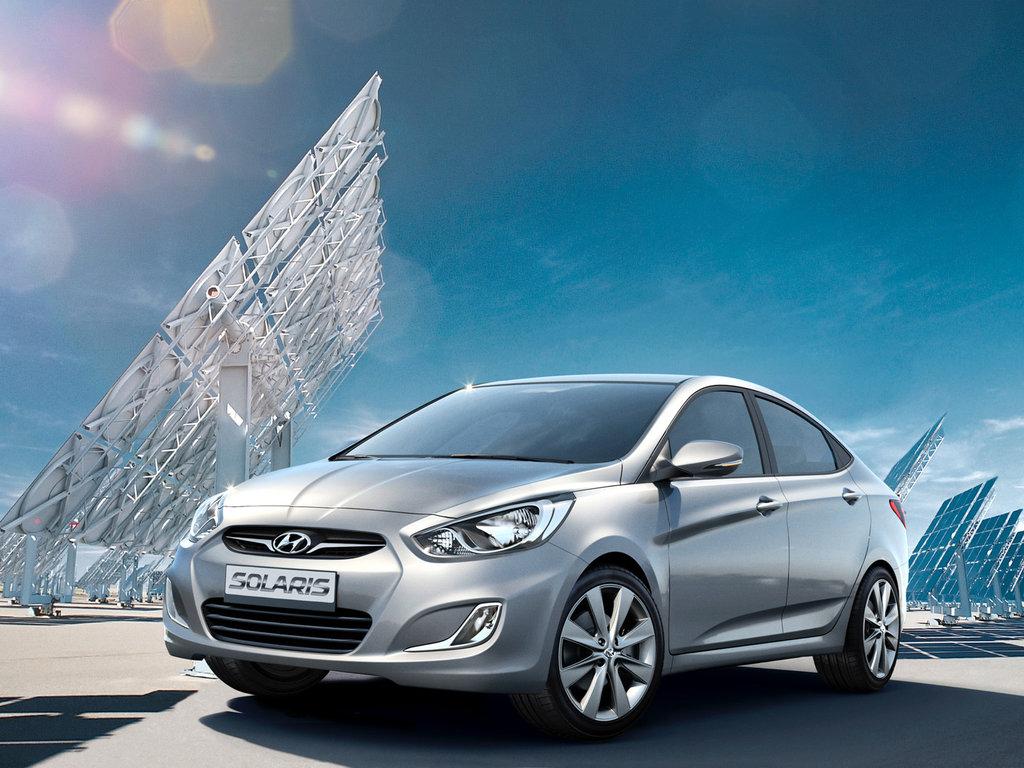 комплектация нового автомобиля hyundai - солярис