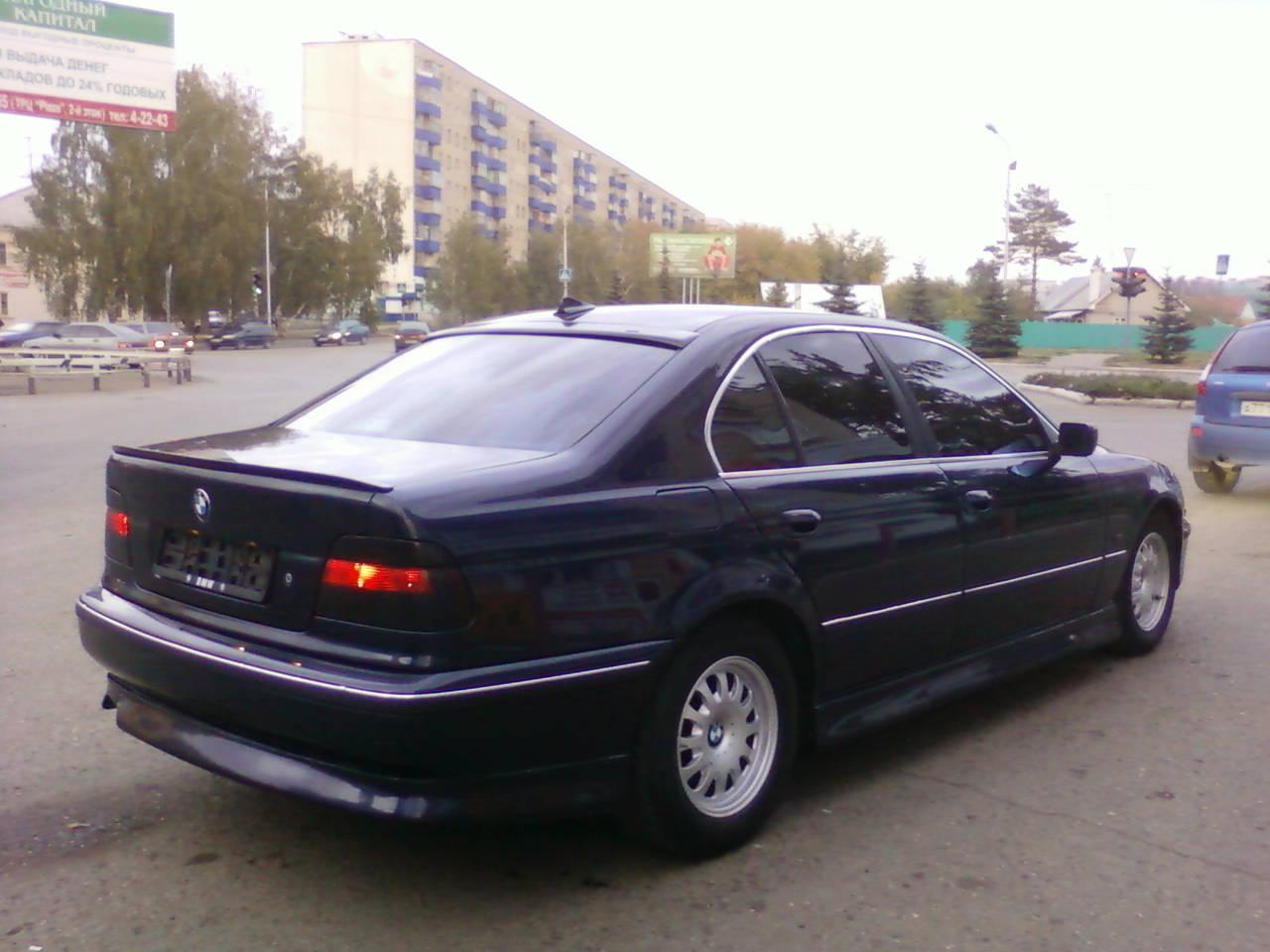 bmw 5 у39 1998 года