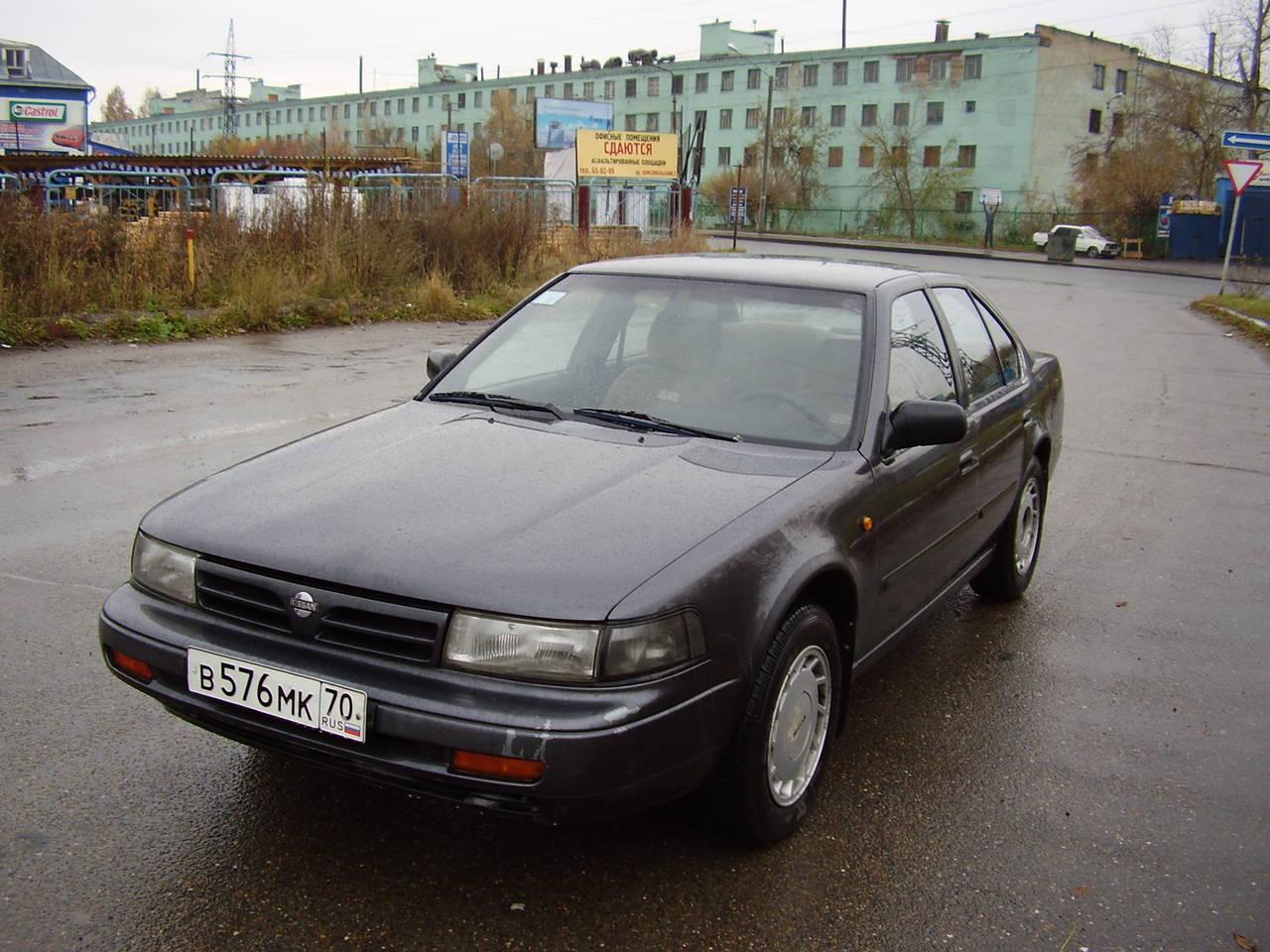 nissan maxima 1989 года расход