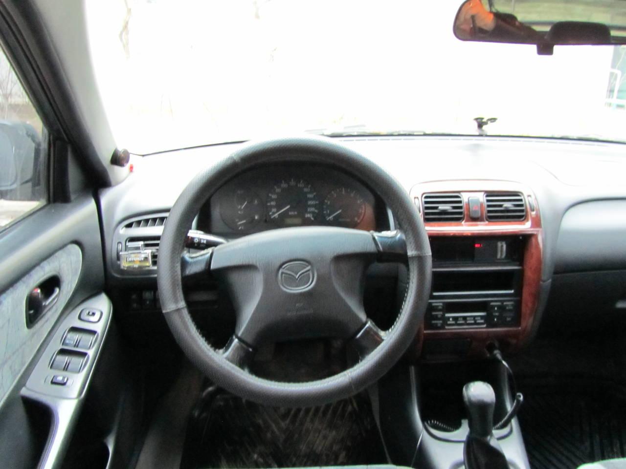 обзор машины mazda 626, 1998