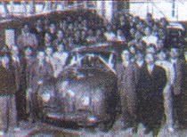 Первый автомобиль, выпущенный компанией «Ниссан» по лицензии английский компании 'Austin'. 1952 год