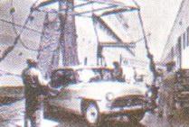 «Тойота Корона» — первый японский автомобиль, экспортируемый за границу. 1957 год