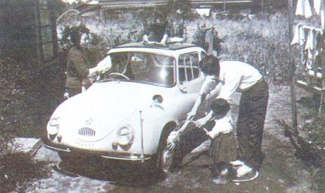«Субару-360» — машина для всей семьи. 1958 год
