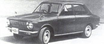 Тойота Королла-1100 компании 'Тойота', 60-е годы