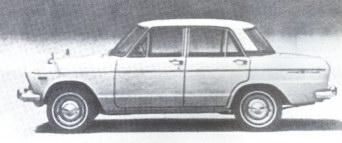Скайлайн-1500 де люкс компании 'Ниссан мотор', вторая половина 60-х годов