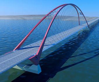 какой будет мост в Новосибирске?