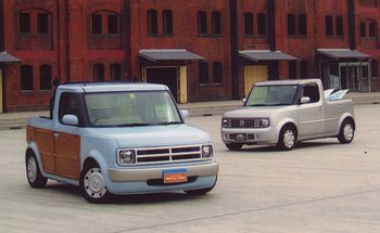 Nissan Pick Up Cube monoCRAFT