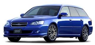 Subaru Legacy Touring Wagon 2.0GT spec.B tuned by STI