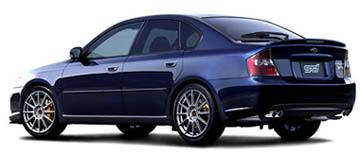 Subaru Legacy B4 2.0GT spec.B tuned by STI