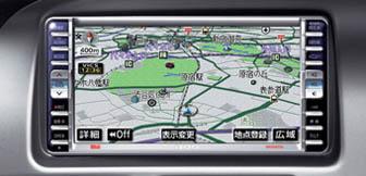 Daihatsu Move HDD Navigation