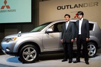 Mitsubishi провела презентацию Outlander