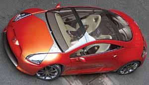 Mitsubishi Eclipse Concept-E