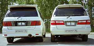 Nissan Bassara и Nissan Presage