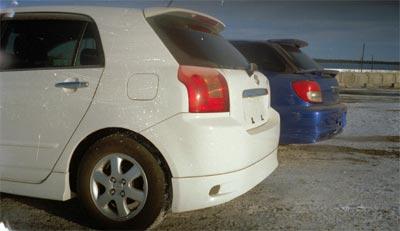 Toyota Allex, Subaru Impreza Wagon