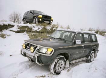 Nissan Patrol GR и Dodge Durango