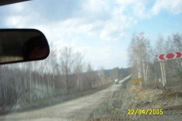 Новосибирск – Питер на Toyota Vitz