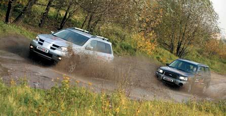 Mitsubishi Outlander 2.0 Sport, Subaru Forester 2.0 X