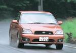 Subaru Legacy B4 уже на начальной стадии разгона развивает наибольший крутящий момент.
