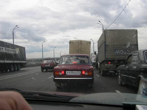 Москва - Новосибирск - Москва на Nissan Lucino (август 2005 г.)