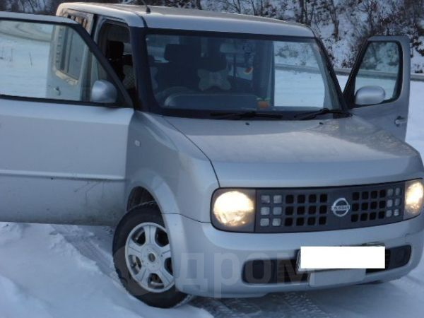 Nissan Cube, 2003 год, 240 000 руб.