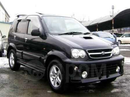 Daihatsu Terios, 2001 год, 365 000 руб.