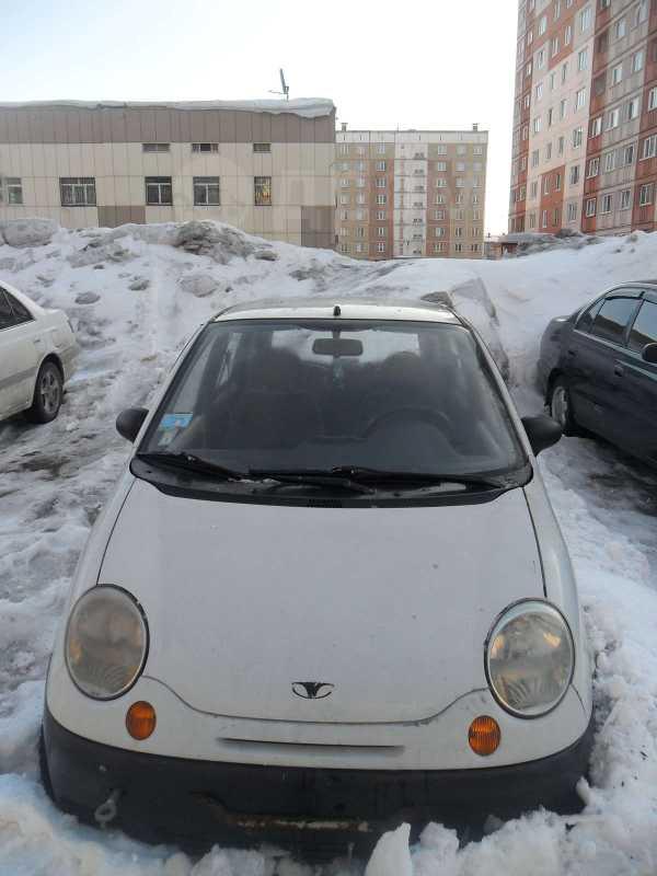 Daewoo Matiz, 2002 год, 60 000 руб.