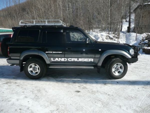 Toyota Land Cruiser, 1995 год, 570 000 руб.