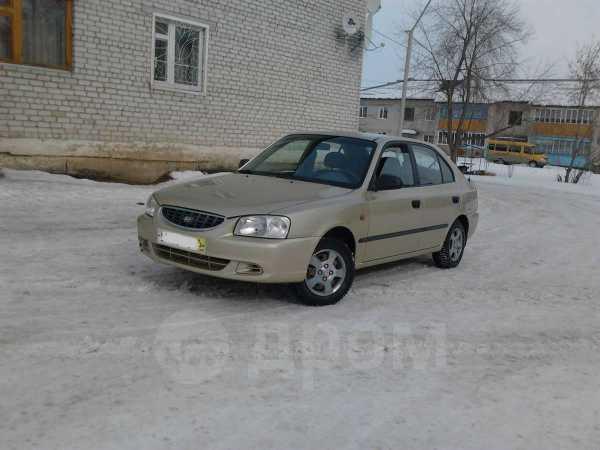 Hyundai Accent, 2001 год, 155 000 руб.