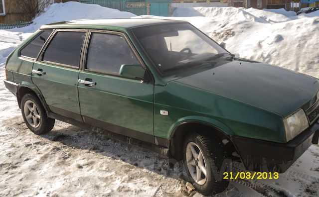 Лада 2109, 1999 год, 85 000 руб.