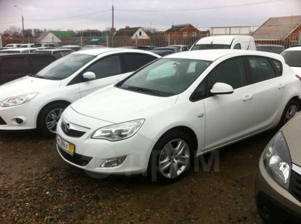 Opel Astra, 2012 год, 590 000 руб.