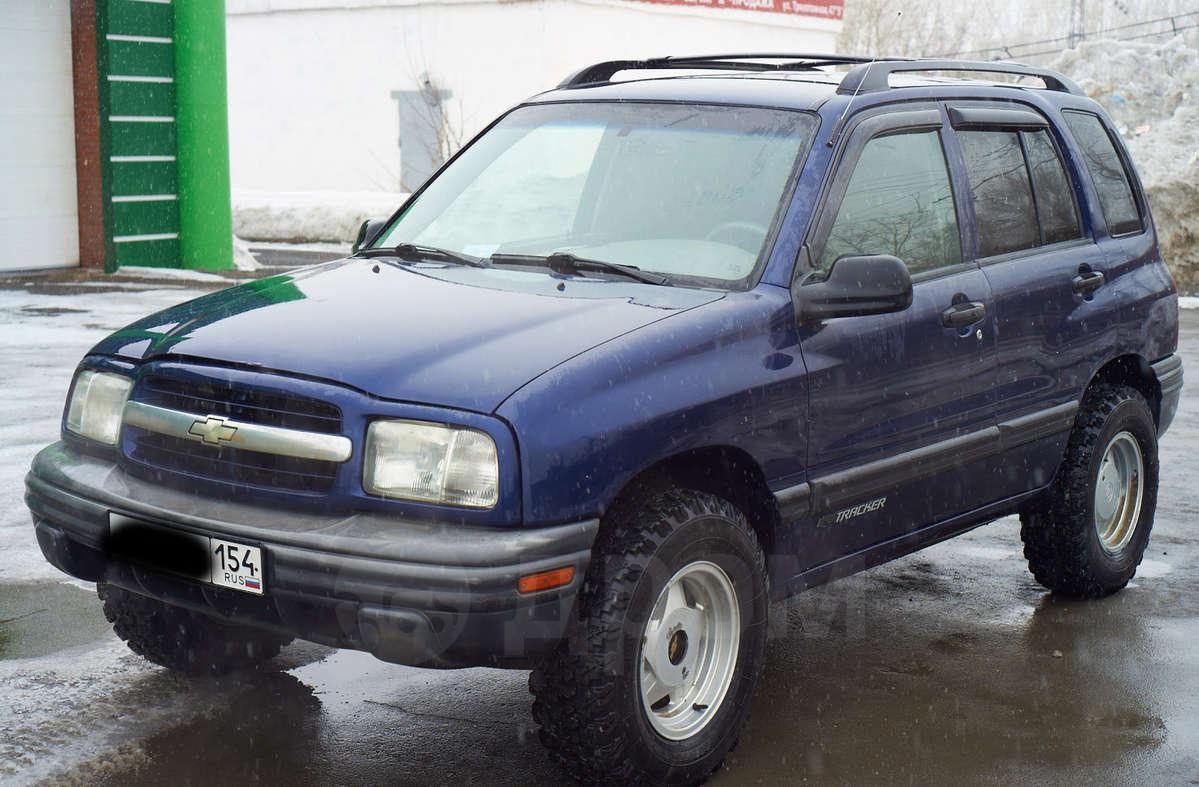 chevrolet tracker 2001 года с механикой