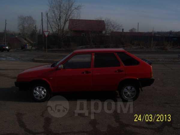 Лада 2109, 1995 год, 73 000 руб.