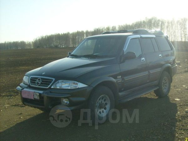 SsangYong Musso, 2004 год, 435 000 руб.