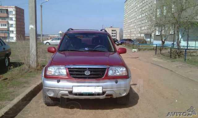 Suzuki Grand Vitara, 2005 год, 490 000 руб.