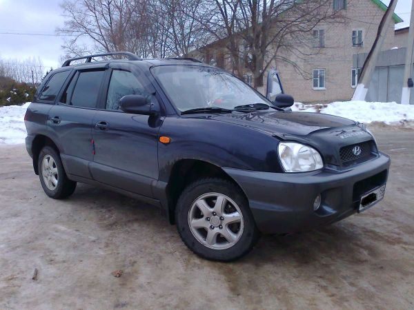 Hyundai Santa Fe, 2004 год, 445 000 руб.