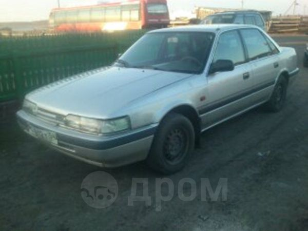 Mazda 626, 1989 год, 78 000 руб.