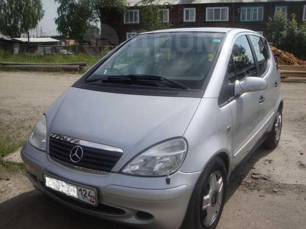 Mercedes-Benz A-Class, 2002 год, 292 000 руб.