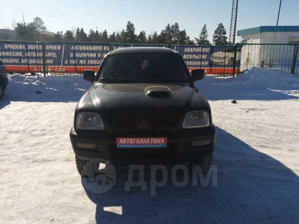 Mitsubishi L200, 2002 год, 365 000 руб.