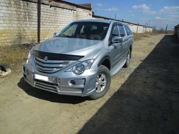 SsangYong Actyon Sports, 2008 год, 375 000 руб.