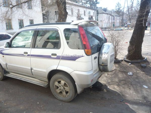 Daihatsu Terios, 1998 год, 245 000 руб.